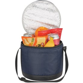 Cans-To-Go Round Kooler Bag with Your Logo