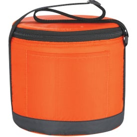 Advertising Cans-To-Go Round Kooler Bag