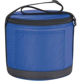 Custom Cans-To-Go Round Kooler Bag