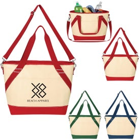 Canvas Cooler Tote Bag
