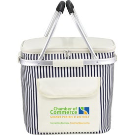 Monogrammed Cape May Picnic Cooler
