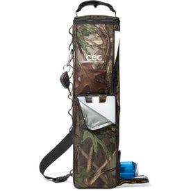 Custom Chillin Camo Can Dispenser Cooler