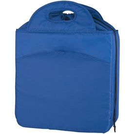 Printed Chill Out Drawstring Kooler Bag