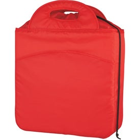 Chill Out Drawstring Kooler Bag Imprinted with Your Logo