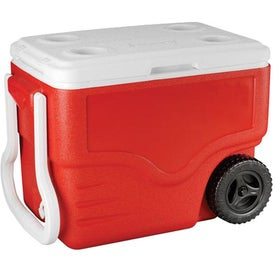 Coleman 40-Quart Wheeled Cooler for your School