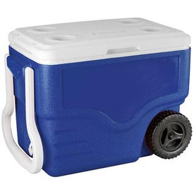 Logo Coleman 40-Quart Wheeled Cooler