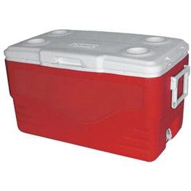 Coleman 50-Quart Cooler for Advertising