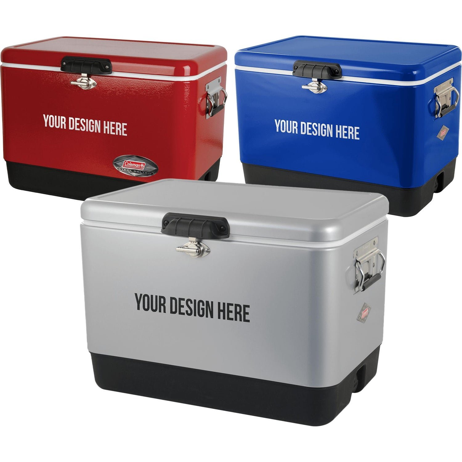 Green Coleman 54 Qt Classic Cooler For Promotion