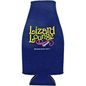 Branded Collapsible Zip-Up Bottle Koozie Kooler