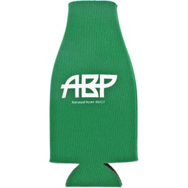 Collapsible Zip-Up Bottle Koozie Koolers