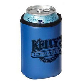 Collapsible Can Cooler with Your Slogan