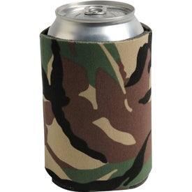 Collapsible Can Cooler Sleeve for Advertising