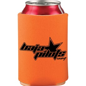 Branded Collapsible Foam Can Holder
