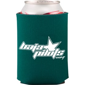 Collapsible Foam Can Holder for Advertising