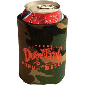 Collapsible Foam Kan Cooler Camo