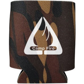 Collapsible Foam Kan Cooler Camo for Your Organization