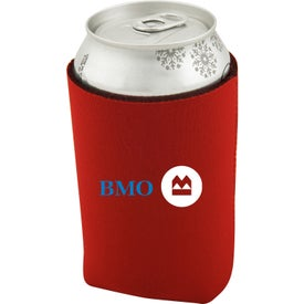 Collapsible Neoprene Can Holder Printed with Your Logo