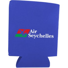 Collapsible Neoprene Can Holder for Marketing