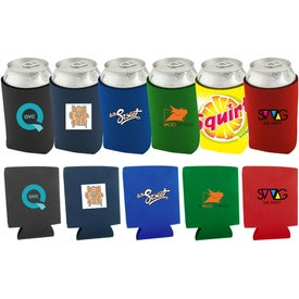 Collapsible Neoprene Can Holder with Your Logo