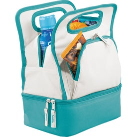 Color Dip Dual Compartment Lunch Cooler for Your Church