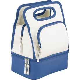 Color Dip Dual Compartment Lunch Cooler for your School