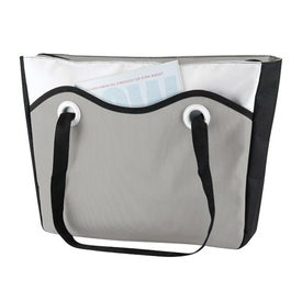 Printed Color Me Travel Cooler Tote