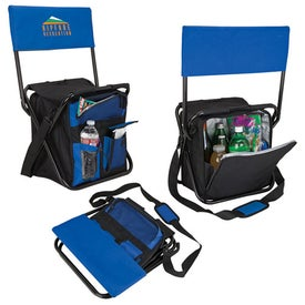 Logo Custom Cooler Bag Chairs