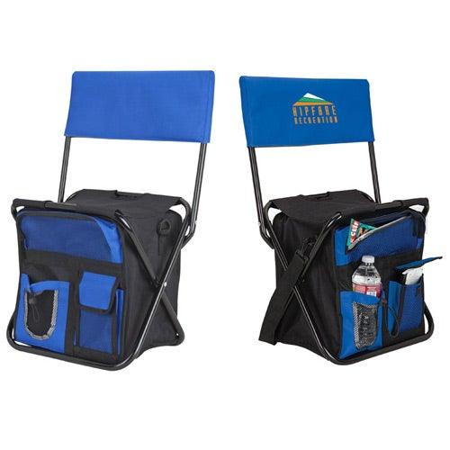 Promotional Cooler Bag Chairs with Custom Logo for 2365 Ea – Personalized Bag Chairs