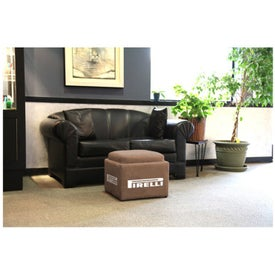 Cooler Ottoman Printed with Your Logo