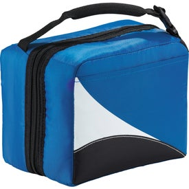 Arctic Zone Core Wave Dual Lunch Cooler with Your Logo