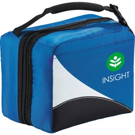 Imprinted Arctic Zone Core Wave Dual Lunch Cooler