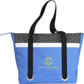 Corsica Cooler Tote Branded with Your Logo