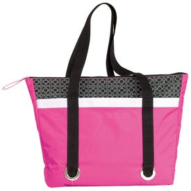 Imprinted Corsica Cooler Tote