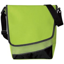 Crossbody Messenger Lunch Cooler Branded with Your Logo
