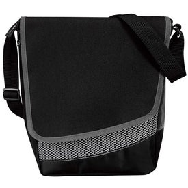 Crossbody Messenger Lunch Cooler for Marketing