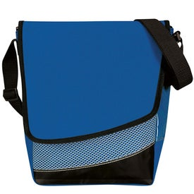 Branded Crossbody Messenger Lunch Cooler