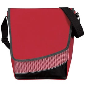 Crossbody Messenger Lunch Cooler with Your Logo
