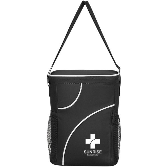 Black Crossing Cooler Bag
