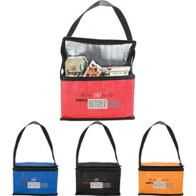 Crossweave Non-Woven Lunch Cooler