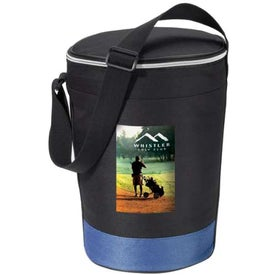 Promotional Cruiser Round Deluxe Insulated Cooler