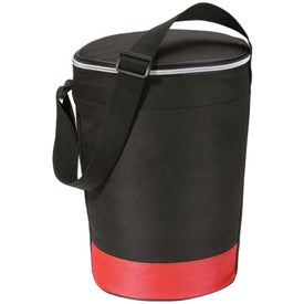 Monogrammed Cruiser Round Deluxe Insulated Cooler