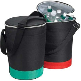 Cruiser Round Deluxe Insulated Cooler (Digital Print)