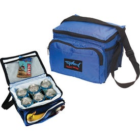 Branded Deluxe 6 Pack Cooler Bag