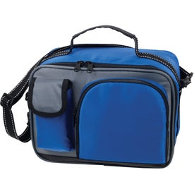 Logo Deluxe Insulated Lunch Bag