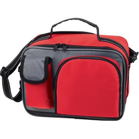 Advertising Deluxe Insulated Lunch Bag