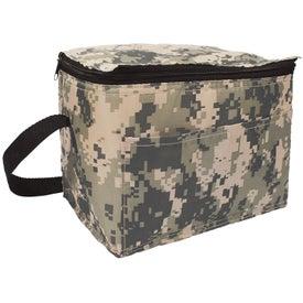 Personalized Digital Camo 6 Pack Cooler Bag