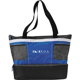 Customized Double Decker Cooler Tote