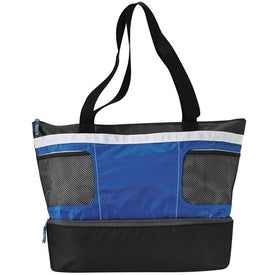 Printed Double Decker Cooler Tote