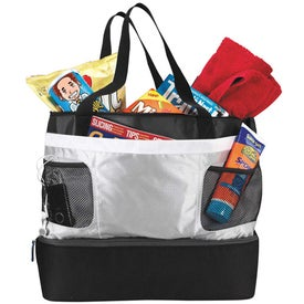 Imprinted Double Decker Cooler Tote