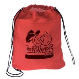 Advertising Drawstring Cooler Backpack
